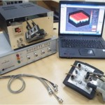 SonaCTx ultrasonic scanning system, comprising of 4channel DAS, computer system for control and image reconstruction and sensor head.